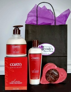 Caren Red Cocoa Gift Set