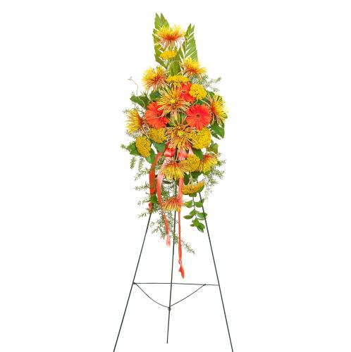 Heaven\'s Sunset Sm. Standing Spray