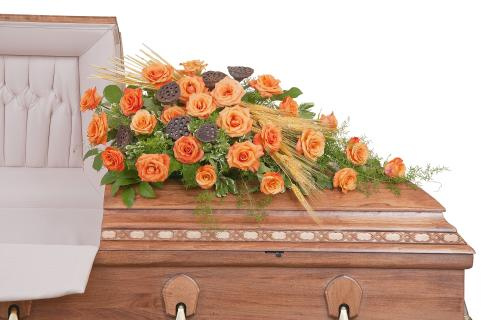 Fall Splendor Casket Spray - Full